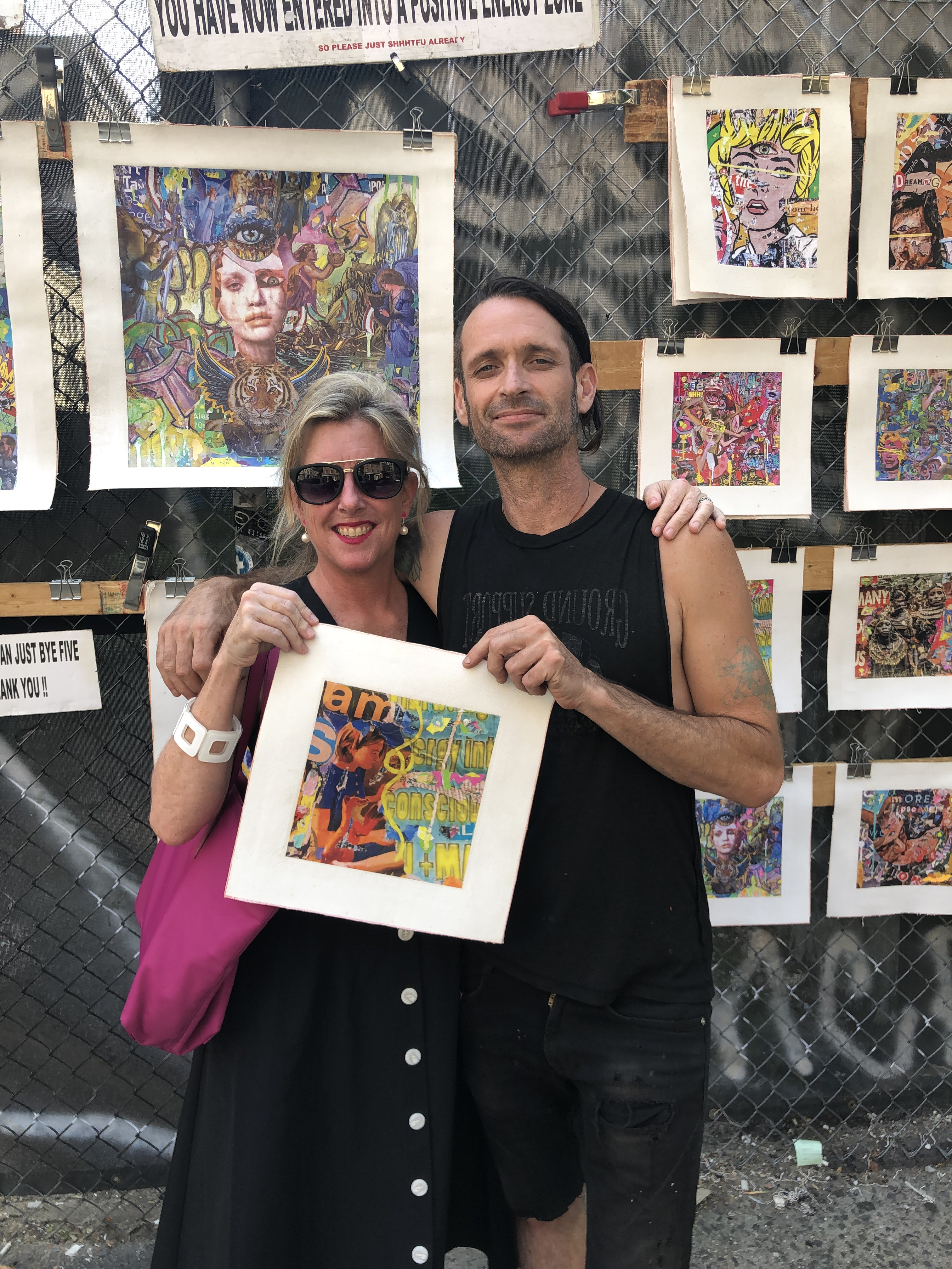 Buying street art in NYC
