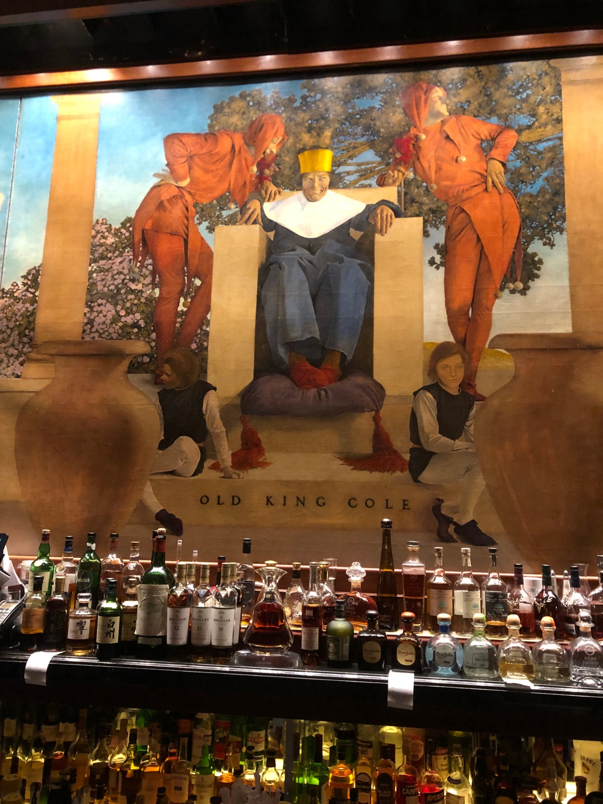 King Cole Bar at St. Regis New York